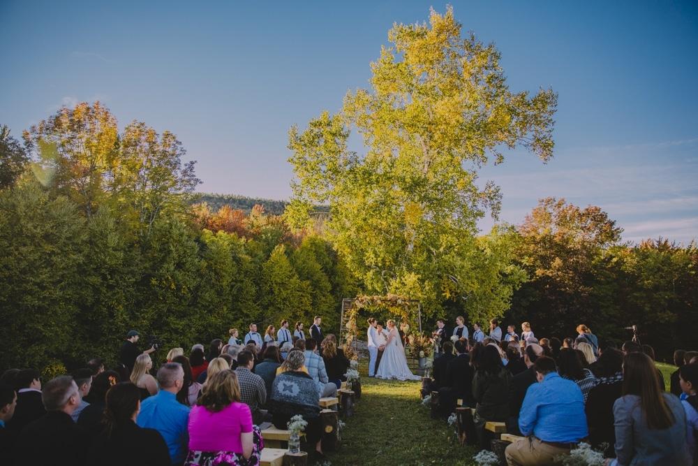 Kitz Farm Wedding In New Hampshire